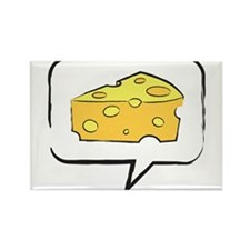 "WTD: Say ""CHEESE"" Rectangle Magnet"