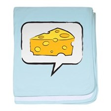 "WTD: Say ""CHEESE"" baby blanket"