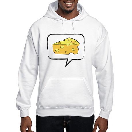 "WTD: Say ""CHEESE"" Hooded Sweatshirt"
