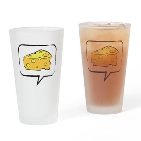 """WTD: Say """"CHEESE"""" Drinking Glass"""