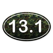 Half Marathon *camo* Decal