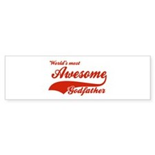 World's Most Awesome Godfather Bumper Sticker
