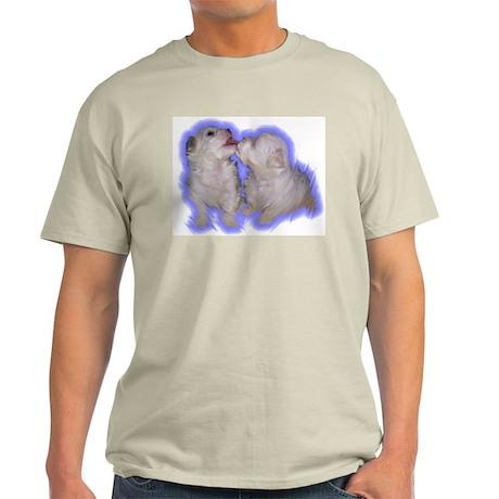 Puppy Kisses Ash Grey T-Shirt