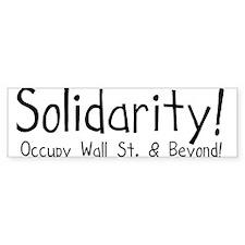 Funny Occupy america Bumper Sticker