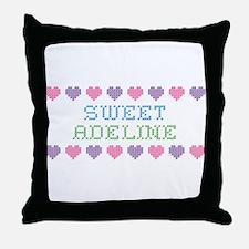 Sweet ADELINE Throw Pillow