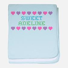 Sweet ADELINE baby blanket