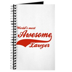 World's Most Awesome Lawyer Journal