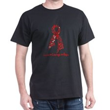 Butterfly Ribbon AIDS T-Shirt
