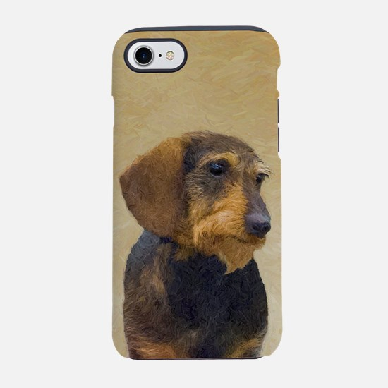 Dachshund (Wirehaired) iPhone 7 Tough Case