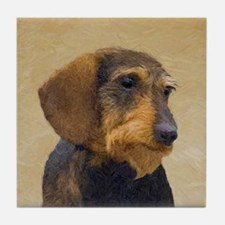 Dachshund (Wirehaired) Tile Coaster