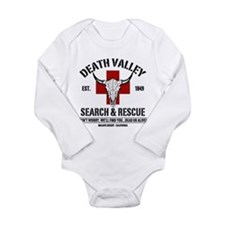 DEATH VALLEY SEARCH & RESCUE Long Sleeve Infant Bo