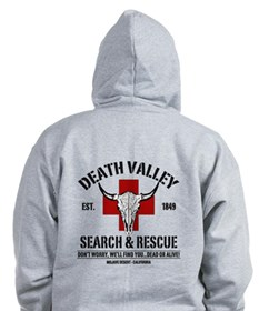 DEATH VALLEY SEARCH & RESCUE Zip Hoodie