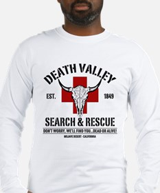 DEATH VALLEY SEARCH & RESCUE Long Sleeve T-Shirt