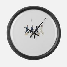 fdr to Obama Large Wall Clock