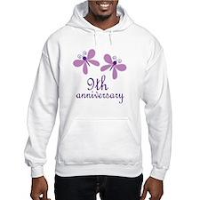9th Anniversary (Wedding) Jumper Hoody