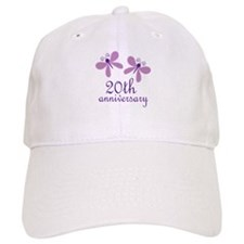 20th Anniversary (Wedding) Baseball Cap