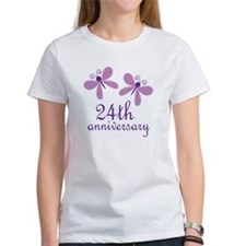 24th Anniversary (Wedding) Tee