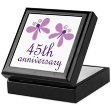 45th Anniversary (Wedding) Keepsake Box