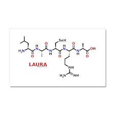Laura molecularshirts.com Car Magnet 20 x 12