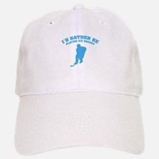 I'd rather be playing ice hockey Baseball Baseball Cap