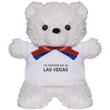 I'd rather be in Las Vegas Teddy Bear