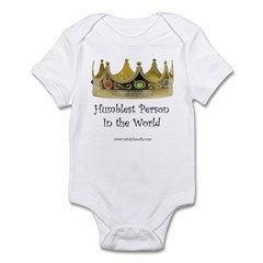 Humblest Person Infant Creeper