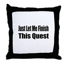 Unique Wow Throw Pillow