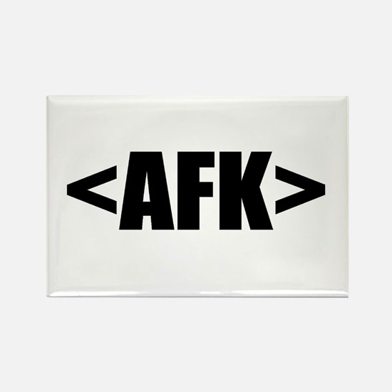 Cute Afk Rectangle Magnet