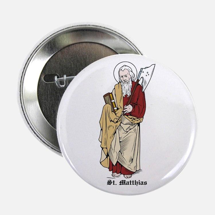 "St. Matthias 2.25"" Button (10 pack)"
