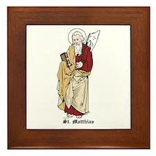 St. Matthias Framed Tile