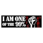 I am one of the 99% bumper sticker