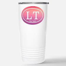 LT Lake Tahoe Sunset Travel Mug