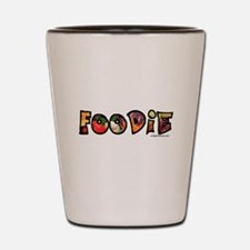Foodie, food drink lover Shot Glass