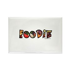 Foodie, food drink lover Rectangle Magnet
