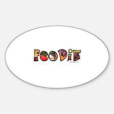 Foodie, food drink lover Decal