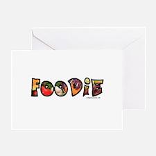 Foodie, food drink lover Greeting Card