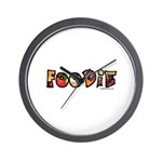 Foodie, food drink lover Wall Clock
