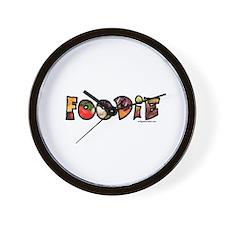 Foodie, food drink lover Wall Clock