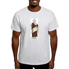 St. Matthew Ash Grey T-Shirt