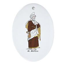St. Matthew Oval Ornament