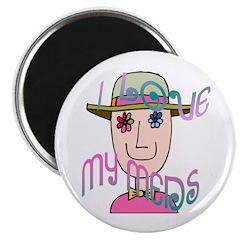 I Love My Meds Magnet