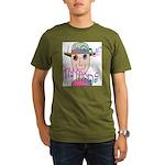 I Love My Meds Organic Men's T-Shirt (dark)