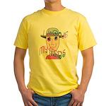 I Love My Meds Yellow T-Shirt