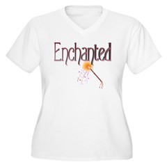 Enchanted (red+pink) T-Shirt