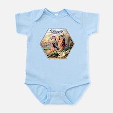 Mermaids Cigar Label Infant Bodysuit