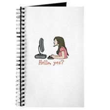 Hello, yes? Journal