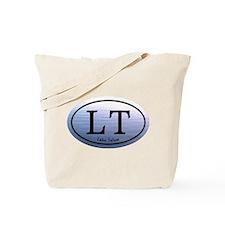 Lake Tahoe LT Blue Water Tote Bag