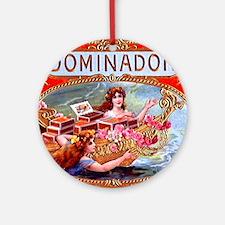 Dominador Cigar Label Ornament (Round)
