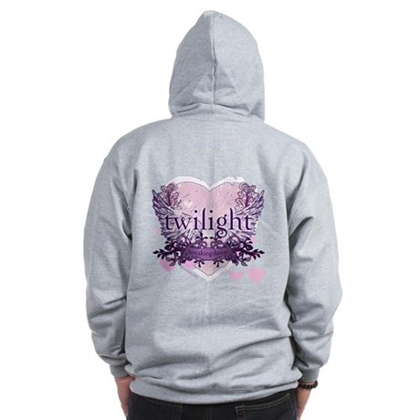 Must Have Breaking Dawn #6 by Twibaby Zip Hoodie
