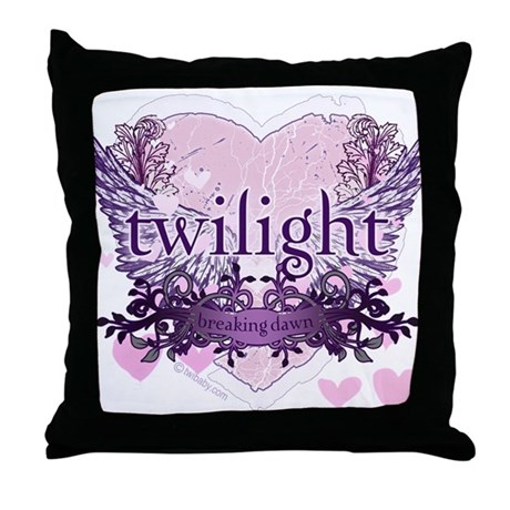 Must Have Breaking Dawn #6 by Twibaby Throw Pillow